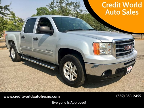2012 GMC Sierra 1500 for sale at Credit World Auto Sales in Fresno CA