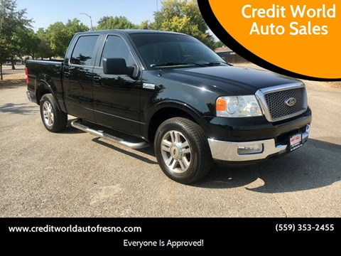2005 Ford F-150 for sale at Credit World Auto Sales in Fresno CA