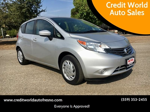 2015 Nissan Versa Note for sale at Credit World Auto Sales in Fresno CA