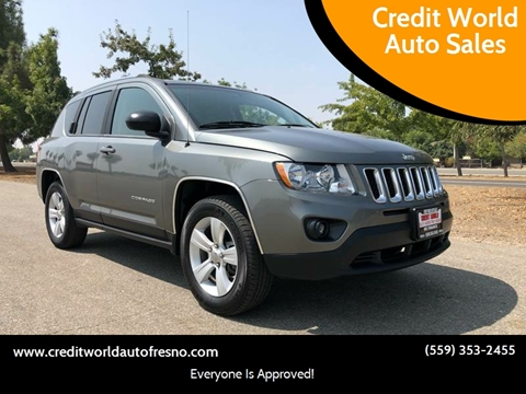 2011 Jeep Compass for sale at Credit World Auto Sales in Fresno CA