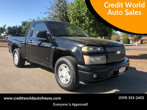 2006 Chevrolet Colorado for sale at Credit World Auto Sales in Fresno CA