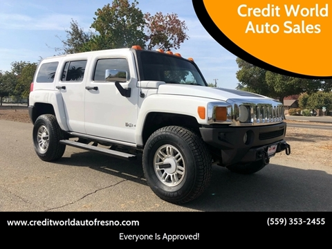2006 HUMMER H3 for sale at Credit World Auto Sales in Fresno CA