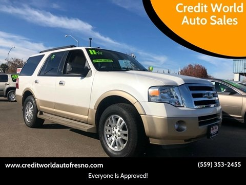 2011 Ford Expedition for sale at Credit World Auto Sales in Fresno CA