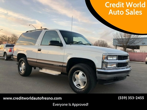 1996 Chevrolet Tahoe For Sale Carsforsale Com