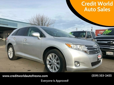 2011 Toyota Venza for sale at Credit World Auto Sales in Fresno CA