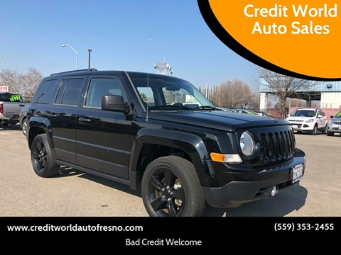 2015 Jeep Patriot for sale at Credit World Auto Sales in Fresno CA