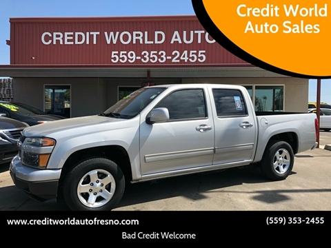 2012 Chevrolet Colorado for sale at Credit World Auto Sales in Fresno CA
