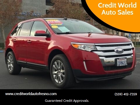 2012 Ford Edge for sale at Credit World Auto Sales in Fresno CA