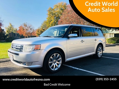 2011 Ford Flex for sale at Credit World Auto Sales in Fresno CA