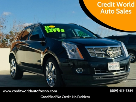 2011 Cadillac SRX for sale at Credit World Auto Sales in Fresno CA