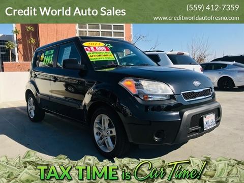 2011 Kia Soul for sale at Credit World Auto Sales in Fresno CA