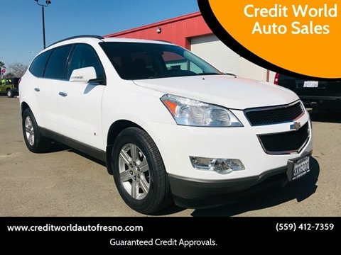 2010 Chevrolet Traverse for sale at Credit World Auto Sales in Fresno CA