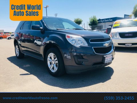 2014 Chevrolet Equinox for sale at Credit World Auto Sales in Fresno CA