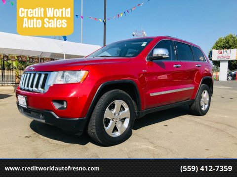 2011 Jeep Grand Cherokee for sale at Credit World Auto Sales in Fresno CA