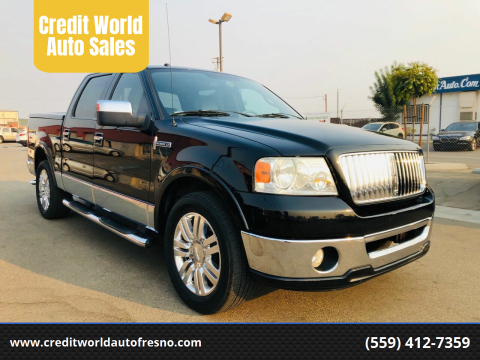 2006 Lincoln Mark LT for sale at Credit World Auto Sales in Fresno CA
