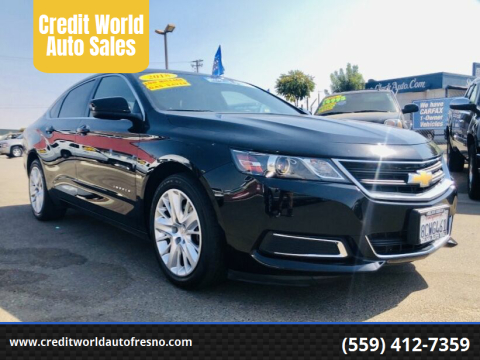 2018 Chevrolet Impala for sale at Credit World Auto Sales in Fresno CA