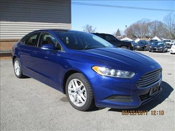 2014 Ford Fusion for sale in Cadillac, MI