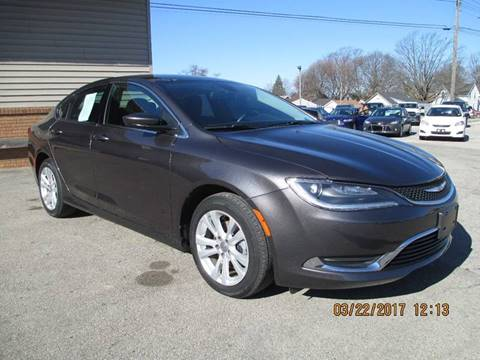 2015 Chrysler 200 for sale in Cadillac, MI