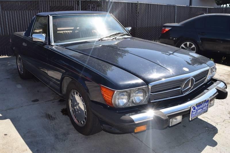 1989 Mercedes Benz 560 Class For Sale At Quality Motors LLC In Santa Rosa