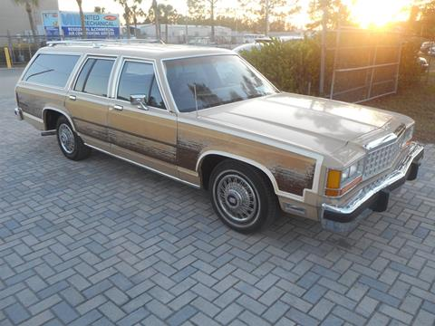 Ford ltd for sale carsforsale 1987 ford ltd crown victoria for sale in fort myers fl sciox Choice Image