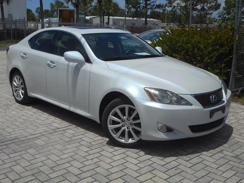 2007 Lexus IS 250 For Sale In Fort Myers, FL