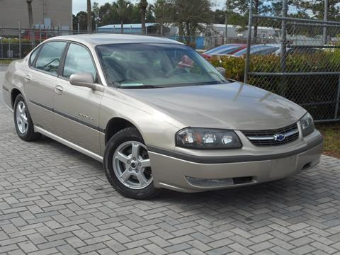 2003 Chevrolet Impala for sale in Fort Myers, FL