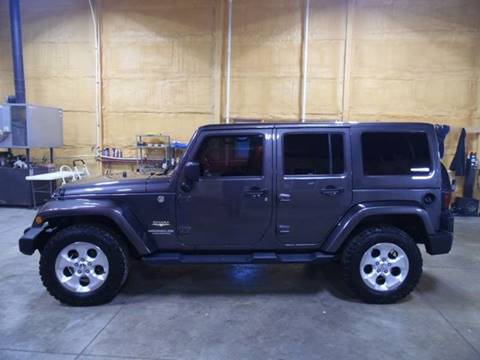 2014 Jeep Wrangler Unlimited for sale in Eureka, IL