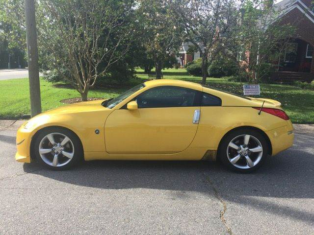 2005 Nissan 350Z For Sale At Freedom Motors Of Fayetteville In Fayetteville  NC