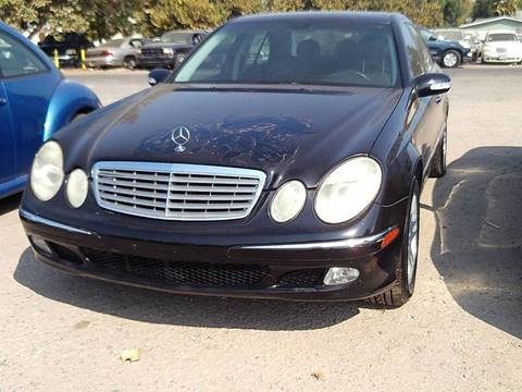 2003 Mercedes-Benz E-Class for sale in Modesto, CA