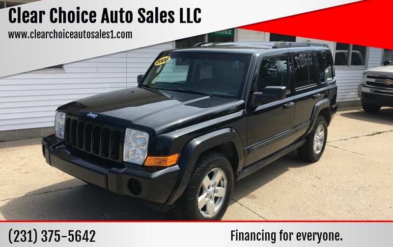 2006 Jeep Commander 4dr Suv 4wd In Twin Lakes Mi Clear Choice Auto