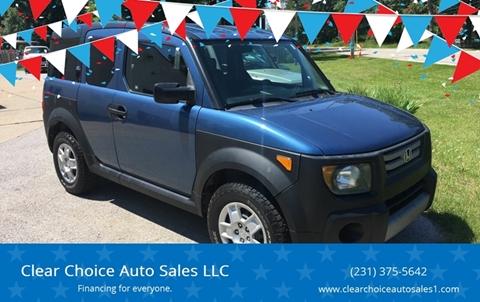 2007 Honda Element for sale in Twin Lakes, MI