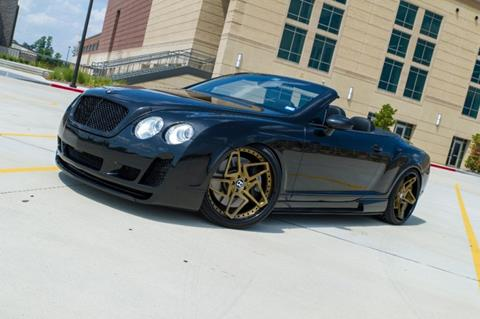 2008 Bentley Continental GTC for sale in Houston, TX