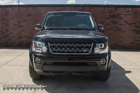 2015 Land Rover LR4 for sale in Houston, TX