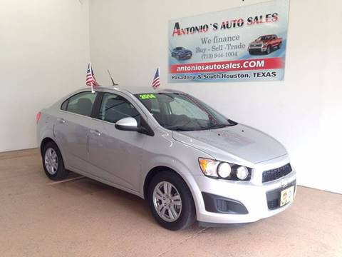 2014 Chevrolet Sonic for sale in South Houston, TX