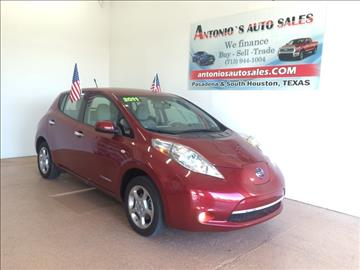2011 Nissan LEAF for sale in South Houston, TX