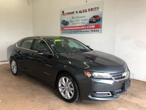 2019 Chevrolet Impala for sale at Antonio's Auto Sales in South Houston TX