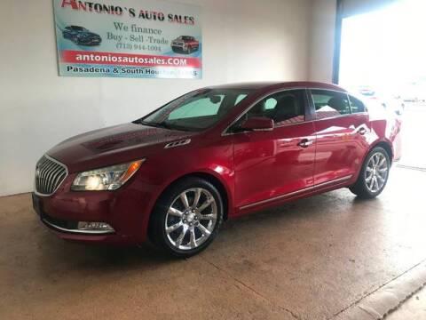 2014 Buick LaCrosse for sale at Antonio's Auto Sales - Antonio`s  3001 in Pasadena TX