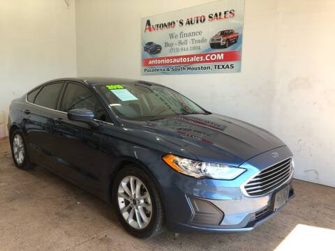 2019 Ford Fusion for sale at Antonio's Auto Sales in South Houston TX