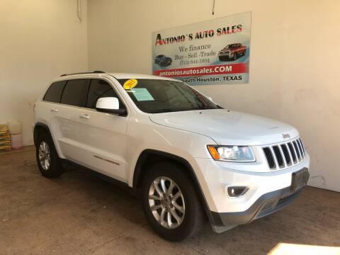 2015 Jeep Grand Cherokee for sale at Antonio's Auto Sales - Antonio`s  3001 in Pasadena TX