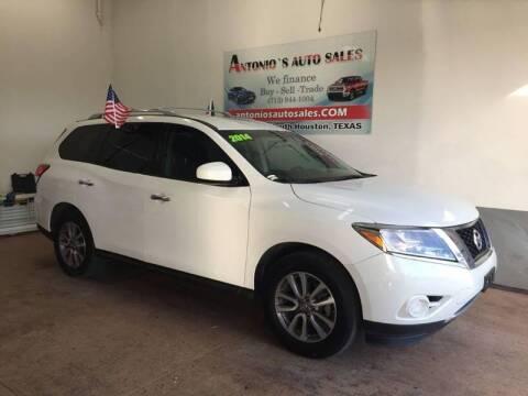 2014 Nissan Pathfinder for sale at Antonio's Auto Sales - Antonio`s  2206 in Pasadena TX