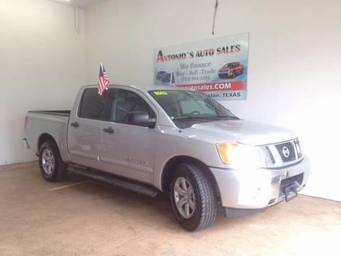 2013 Nissan Titan for sale in South Houston, TX
