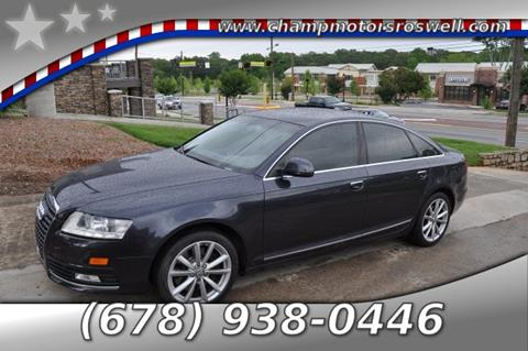 2009 Audi A6 for sale in Roswell, GA