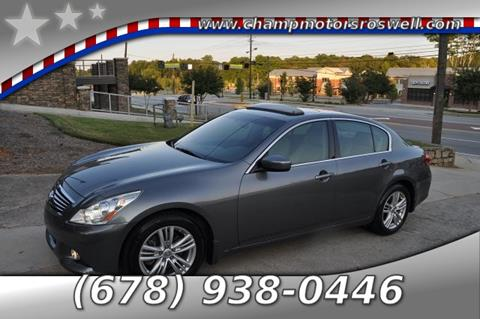 2010 Infiniti G37 Sedan for sale in Roswell, GA