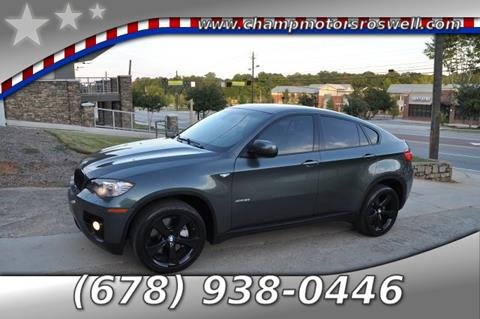 2009 BMW X6 for sale in Roswell, GA