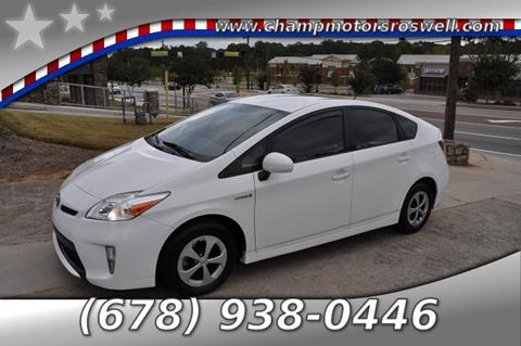 2012 Toyota Prius for sale in Roswell, GA