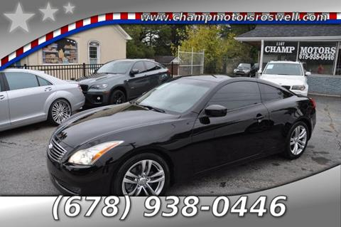 2008 Infiniti G37 for sale in Roswell, GA