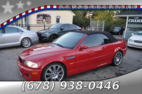 2004 BMW M3 for sale in Roswell, GA