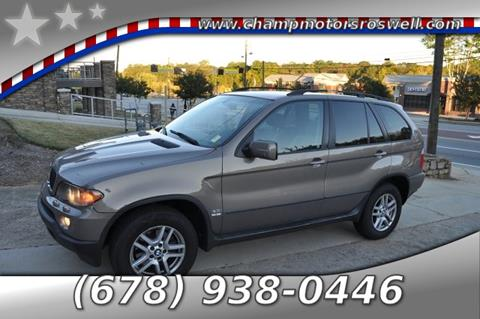 2005 BMW X5 for sale in Roswell, GA