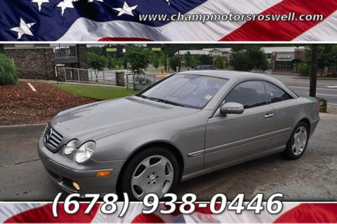 2005 Mercedes-Benz CL-Class for sale in Roswell, GA