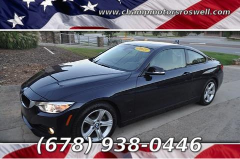 2015 BMW 4 Series for sale in Roswell, GA